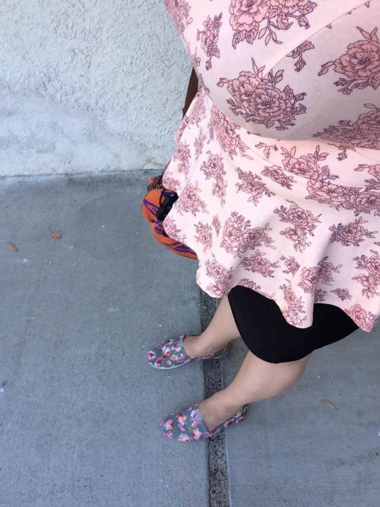 Floral Outfit August 8 2014