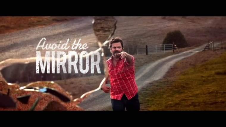Nick Offerman Avoid the Mirror